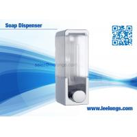 Buy cheap 300ml Single Tank Manual Liquid Soap Dispenser Square For Hotel from wholesalers