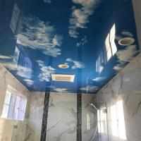 Wholesale Stretch PVC Ceiling Film Blue Sky Starry Night With Fluorescent Lights from china suppliers