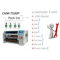 Buy cheap High Speed SMT Pick and Place Machine With Pneumatic Feeder Vision System from wholesalers