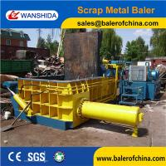 Buy cheap WANSHIDA Scrap Steel HMS Baling Press Compactor Baler Export to USA from wholesalers