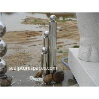 China Stainless steel fountain water feature on sale