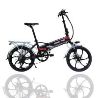 Buy cheap Large Capacity Electric Pedal Bike , 48v 350w Fold Up Electric Bike For Adult from wholesalers