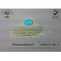 Buy cheap 99% Purity Rimonabant Pharmaceutical Raw Material Weight Loss Steroids CAS 168273-06-1 from wholesalers