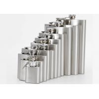 Buy cheap Environmental Protection 1- 18 Oz Hip Flask Plastic Cover Stainless Steel Jug from wholesalers