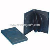 Buy cheap 22mm black DVD case for 6 DVDs cover printing CD DVD Replication Digipak from wholesalers