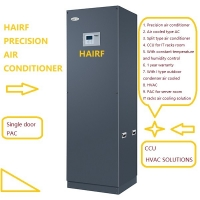 Buy cheap 44kw Energy Saving Black Computer Room Ac Units Crac 9000m3/H from wholesalers