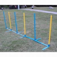 Buy cheap Dog Agility Slalom/Practice Weave Poles, Made of Plastic from wholesalers