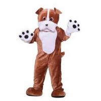 Buy cheap Big dog plush animal costumes square mascot company mascot costumes from wholesalers