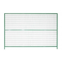Buy cheap Powder Coated 8ft*9.5ft Removable Fencing Panels from wholesalers
