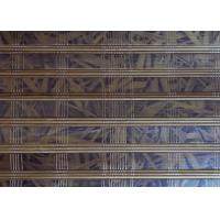 Buy cheap Colored Natural Bamboo Blinds , Bamboo Patio Curtains Natural Dyed Color from wholesalers