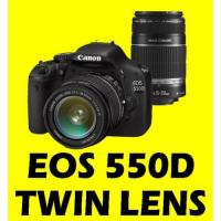 Buy cheap CANON EOS 550D 18-55 + 55-250 TWIN LENS CAMERA +16GB-digital cameras-canon camera from wholesalers