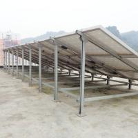 Wholesale Solar Photovoltaic Pile Ground Mount Solar Racking , Solar Panel Ground Mount Kit Adjustable from china suppliers