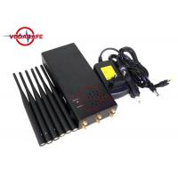 Wholesale High Power Six Way Portable Jammer Device , Cellular Signal Blocker 6000mAh Battery from china suppliers