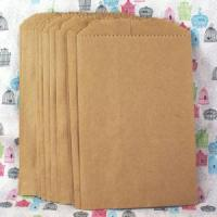 Buy cheap Kraft Paper Merchandise Bag Without Gusset from wholesalers