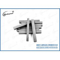 Buy cheap Durable Hard Alloy Tungsten Carbide Strips For Wear Parts Customized Size from wholesalers