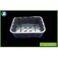 Buy cheap Silver / Grey Plastic Food Packaging Trays Customized With SGS / QC from wholesalers