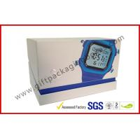 Buy cheap Offset Printing White Watch Apparel Gift Boxes Packaging , Hypotenuse Lid Boxes from wholesalers