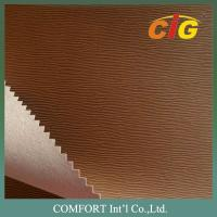 Quality Printing Press Based PU Emboss Leather for Book / Notebook Binding and Folders for sale