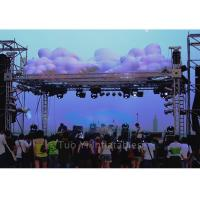 Wholesale Led Lighting Inflatable Stage Decoration / Inflatable LED Cloud with Inner Blower from china suppliers