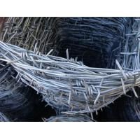 Buy cheap 12 *14 * 3  Cold Dipped Galvanized Point Barbed Wire / Pvc Coated Barbed Wire from wholesalers