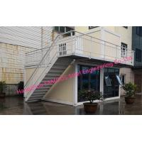 Buy cheap Multi Floor Prefab Container House 20ft Flat Pack Homes For Family Leisure And Tourism Use from wholesalers