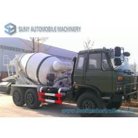 Buy cheap Dongfeng 6 X 6 All Wheel Drive 5 M3 Concrete Mixture Truck Off Road from wholesalers