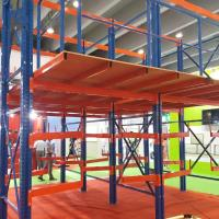 Buy cheap Full Easy Assembled Mezzanine Floor Racking System Steel Material For Cold Room from wholesalers