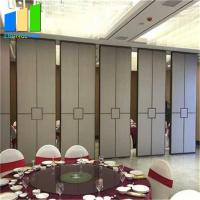 Buy cheap Restaurant Movable Partition Walls 65mm White Melamine Room Dividers from wholesalers