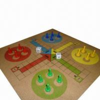 Buy cheap Classic Ludo/Parcheesi Board Game Set from wholesalers
