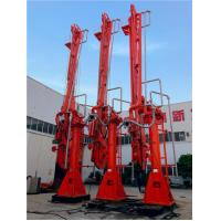 Buy cheap Electric-hydraulically powered marine loading arms Double pipelines transit LPG ammonia dangerous media from wholesalers