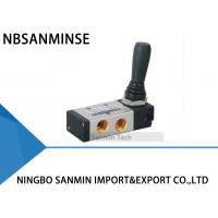Buy cheap 4H Series Pneumatic Solenoid Valve Two Position / Three Position Five May Hand Pull from wholesalers