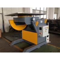 Buy cheap Q235 Material Elevating Welding Positioner  Grey Yellow 90 Degree Tilting Angle from wholesalers