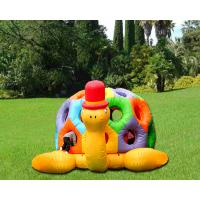Buy cheap Cartoon Tortoise Inflatable Bouncer Kids Jumping Castle Structures Gonflables from wholesalers