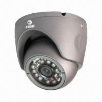 Buy cheap CCTV Waterproof IR CMOS Camera with 20m IR Distance, 600TVL Resolution and 3.6mm Lens from wholesalers