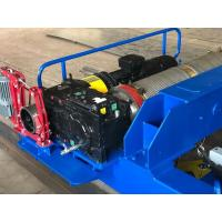 Buy cheap 10T Dual Brake 20 M / Min Electric Hoist Winch from wholesalers