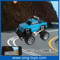 Buy cheap 7.2V RC Battery 70M-100M Remote Distance Wifi Controlled Indoor RC Car With 0.3Mega-Pixel from wholesalers
