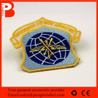 Factory direct High quality custom embroidered patch embroidery bull patches custom embroidered arm patches Manufactures