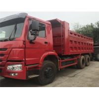 Buy cheap RHD Driving 30 Ton Dump Truck , Euro 2 Sinotruk 6x4 Howo Tipper Two Seats from wholesalers