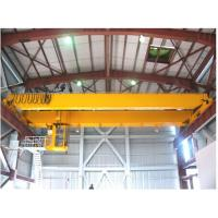 Buy cheap High quality 30 ton double girder traveling bridge crane from wholesalers