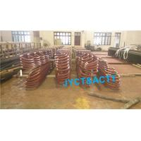 Buy cheap SA210 U Bend Seamless Helical Welded Fin Tubes For HRSG Boiler / Fired Heater from wholesalers