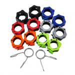 Buy cheap Wholesale Plastic Lifting Bar Gym Fitness Barbell Collar Dumbbell Buckle Lock Clips Clamp from wholesalers