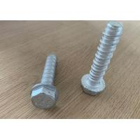 Buy cheap Hex Flange Head  High-Low Thread Concrete Self Tapping Bolt ,1000hours Ruspet  M6,M8,M10,M12,M16 from wholesalers