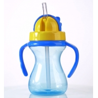 Buy cheap Drop Proof 9oz 290ml Children Baby Weighted Straw Cup from wholesalers