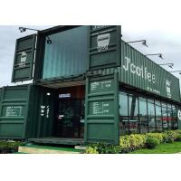 Buy cheap Modular Shipping Container Restaurant Prefabricated Container Coffee Shop Interior Design from wholesalers