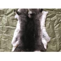 Buy cheap Light Grey Rex Rabbit Fur Neck Warmer , Real Rex Rabbit Pelts Skin For Plate Blanket from wholesalers