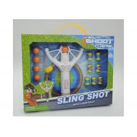 """Wholesale Super Power 8 """" Flying Kids Slingshot Toys With 5 Foam Balls And 6 Targets from china suppliers"""