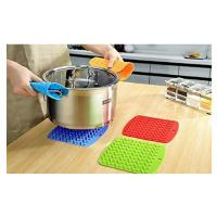 Buy cheap Silicone Trivet Mat, Hot Pads Non-Slip Silicone Insulation Mat for Home Use from wholesalers