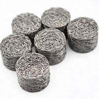 Buy cheap Mufflers compressed stainless steel knitted wire mesh for exhaust systems from wholesalers