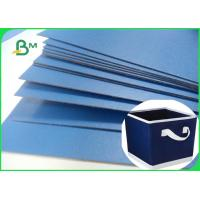 Buy cheap Lacquered Finish Glossy Blue Cardboard For Gift Box File Folders 720 x 1020mm from wholesalers
