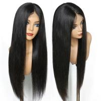 Buy cheap 150% Density Brazilian Full Lace Human Hair Wigs With Baby Hair For Black Women from wholesalers